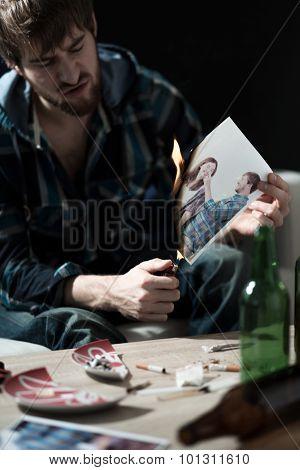 Burning Ex Girlfriend Photos