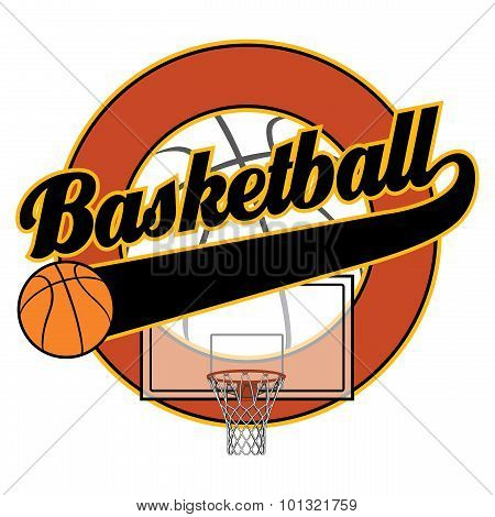 Basketball With Tail Banner