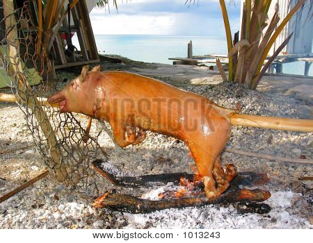 Polynesian Pig Roast