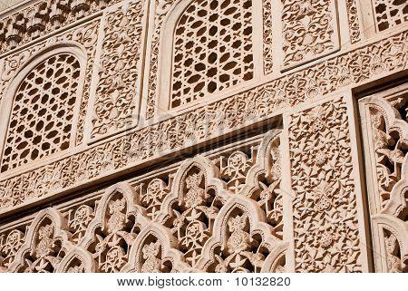 Islamic (Moorish) Art carved