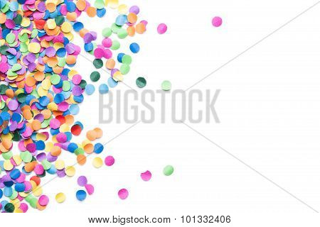 colorful confetti