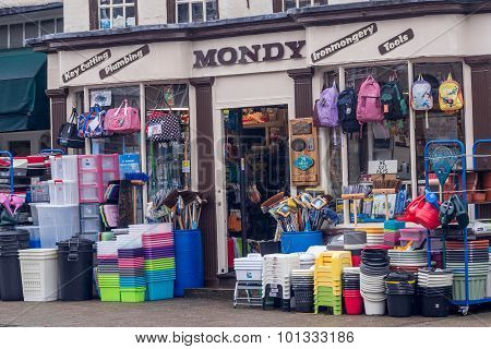 Local Nostalgic Shop On Witham High Street