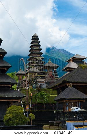 The Pura Besakih temple complex