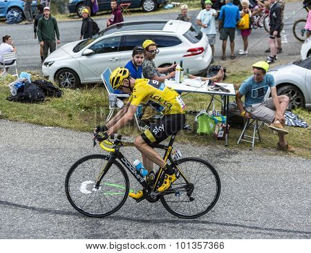 The Cyclist Chris Froome - Tour De France 2015