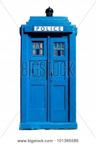Traditional Uk Police Box