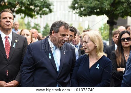 New Jersey governor Chris Christie