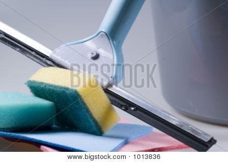 Window Washer And Bucket