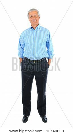Businessman With Hands In Pockets