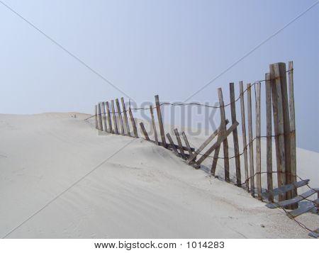Fenced Sand