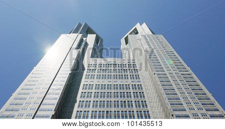 Japan Tokyo government main building