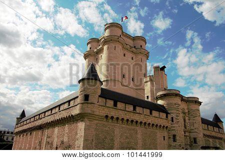 The Castle Of Vincennes.