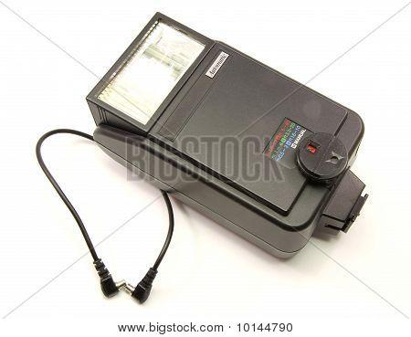 Old Vintage External Hotshoe Camera Flash