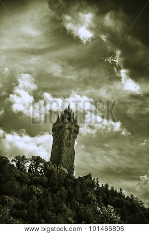 The Wallace Monument in Scotland