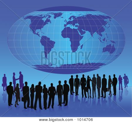 Business Team - Vector Illustration