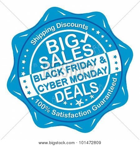 Black Friday / Cyber Monday deals Sticker