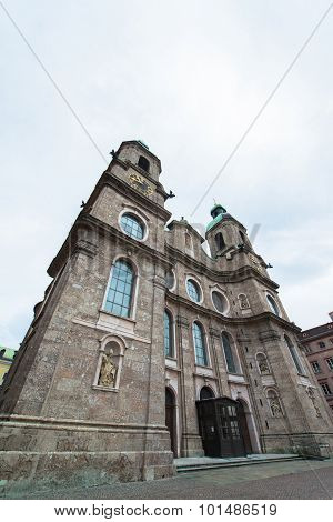 Dom Sankt Jakob, Cathedral of Innsbruck, Austria