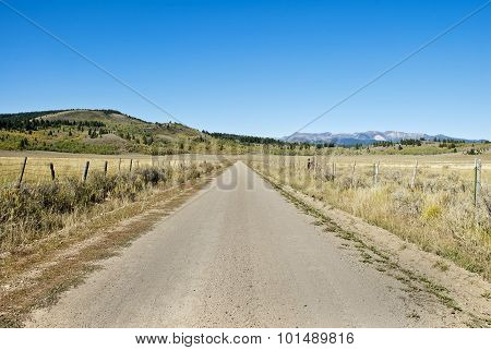 High Country Dirt Road