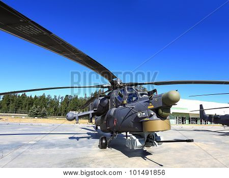 Combat Helicopter