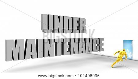 Under Maintenance as a Fast Track Direct Express Path poster