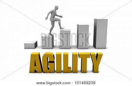 Improve Your Agility  or Business Process as Concept poster