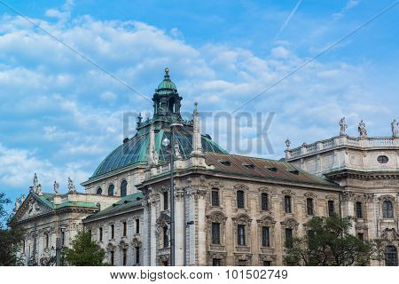 Buildings in munich city center