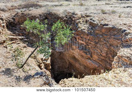 Wondergat Sinkhole - Namibia