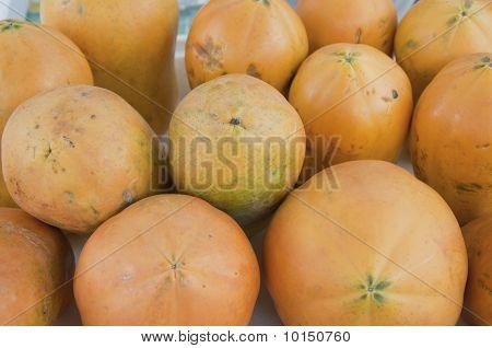 Organic Orange Color Papaya