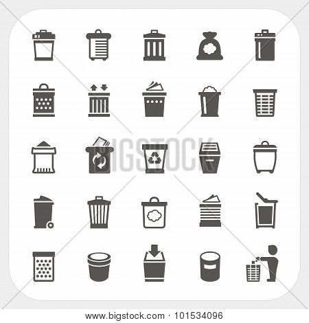 Trash Icons Set