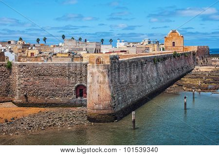 Aerial view of Mazagan, El Jadida, Morocco