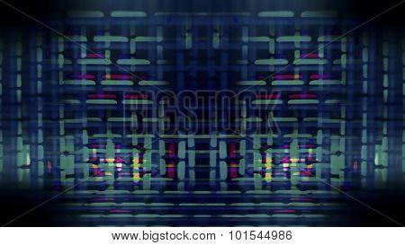 Futuristic Screen Display Pixels 10473