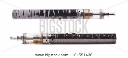 Vaping electronic cigarette devise isolated