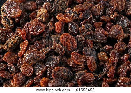 Close Up Photo Of Raisins Or Currants.