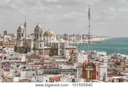 Cityscape, Cadiz, Spain