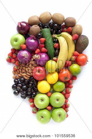 Healthy Food Head
