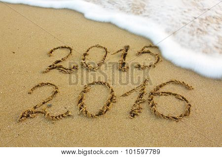New Year 2016 .