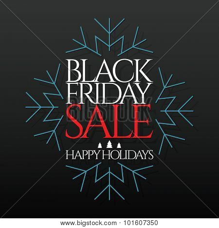 Design poster for black friday sales