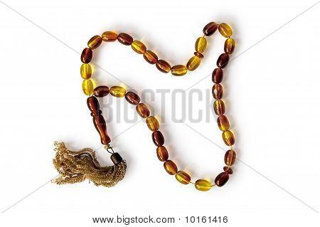 Rosaries Yellow-brown