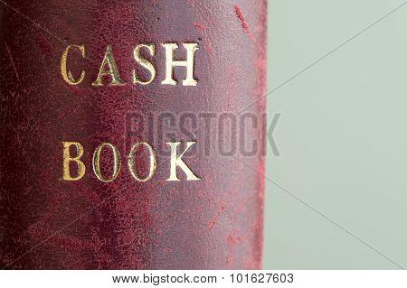 Leather Bound Cash Book