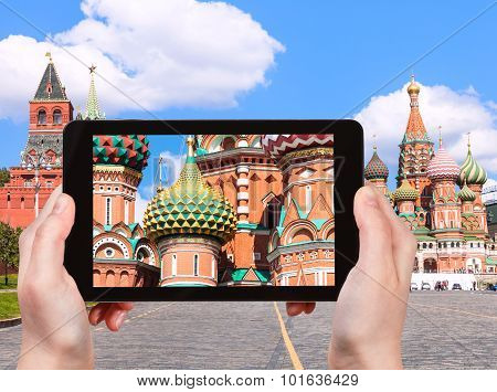 Picture Of Pokrovsky Cathedral In Moscow