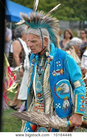 Native American Dancing at Pow-Wow