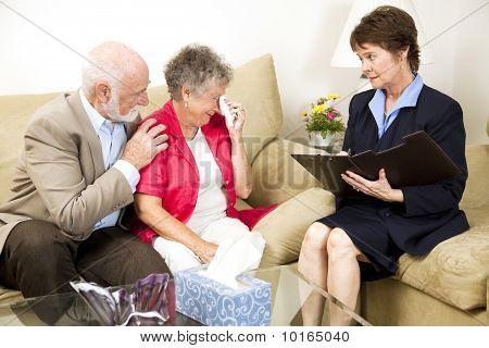 Senior Woman Battles Depression