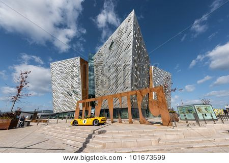 Titanic visitor centre in Titanic Quarter