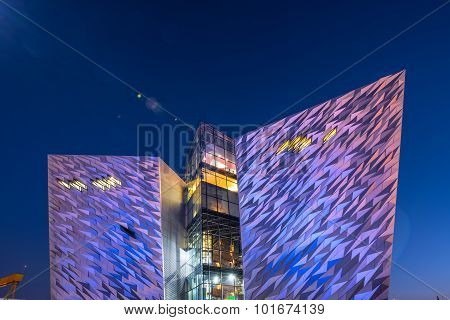 Titanic visitor centre, Belfast, Northern Ireland
