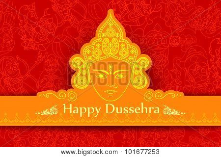 Goddess Durga for Happy Dussehra