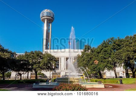 Dallas Union Station, Also Known As Dallas Union Terminal