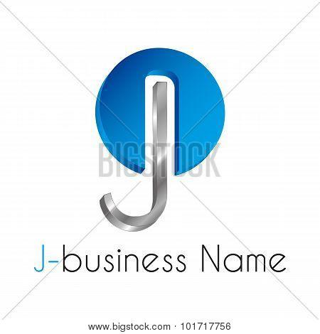 Letter Logo J