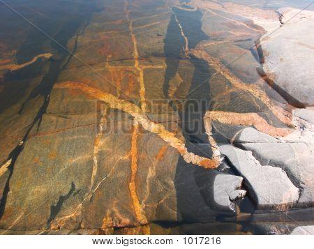 Vivid Sea Minerals Background