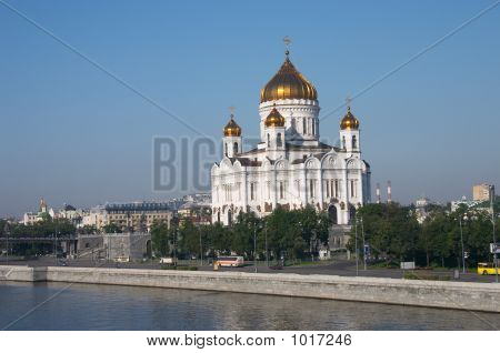 Moscow. Cathedral Of Christ The Savior