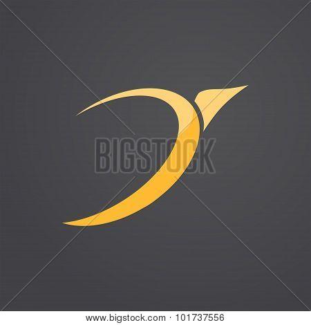 Bird Icon Concept Sign