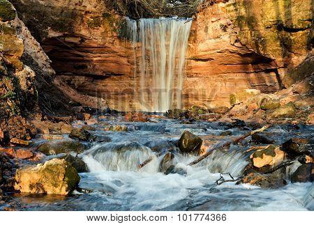 Gorchakovschina Waterfall